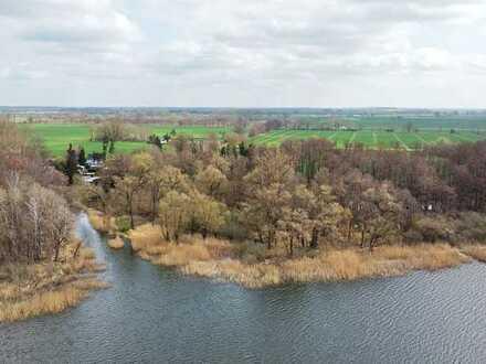 Großes und naturbelassenes Waldgrundstück direkt am Riewendsee - kein Bauland!