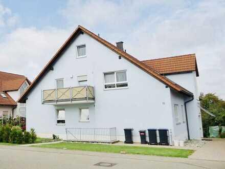 2-Zimmer-DG-Wohnung mit Balkon und Garage in Schrozberg