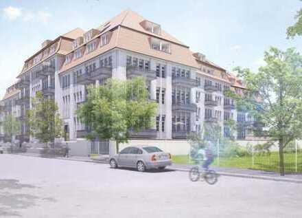 Historischen Tabakfabrik Striesen - WE mit 3 Balkonen und Gartenanteil