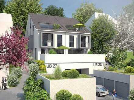 Luxuriöse Neubau Maisonettewohnung mit Aussicht