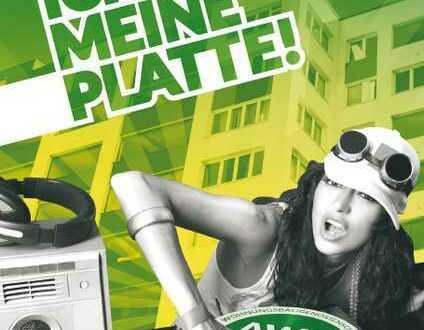 ICH LIEBE MEINE PLATTE - 3-Raum-Wohnung auf 58 m² in der Güstrower Südstadt!