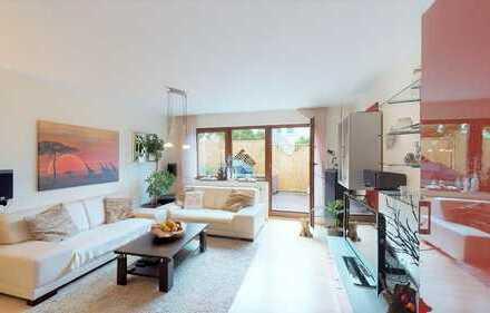 Modernisierte 2,5 Zimmer-Wohnung mit traumhafter Terrasse