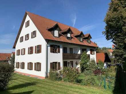 KNIPFER IMMOBILIEN - Tolle 2 ZKB mit Loggia und Garage in Wertingen-Bliensbach zum Kauf
