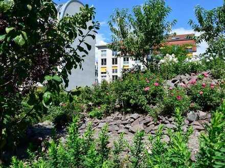 DD-Johannstadt - hochwertige 2 Raumwohnung mit Terrasse und Gartenanteil