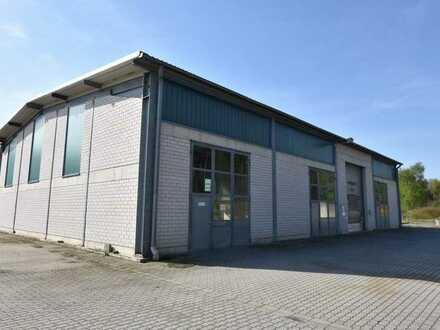 Separate Kalt- Lagerhalle