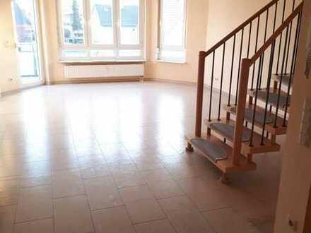 TOP-Maisonette-Wohnung mit Balkon, Carpot Einbauküche in Eggenstein