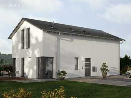 Klassisches Raumwunder - architektonisch moderner Stil - inkl. Bauplatz
