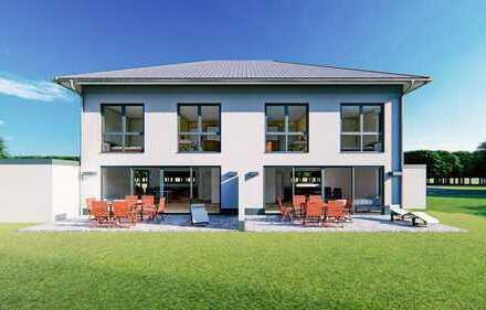 Individuell planbar - moderne Stadtvilla als Doppelhaushälfte + Garage ab 120m² (schlüsselfertig)
