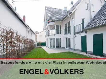 Bezugsfertige Villa mit viel Platz in beliebter Wohnlage!