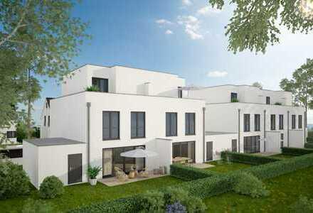 Exklusive Doppelhaushälfte zentrumsnah und 500m vom Rhein