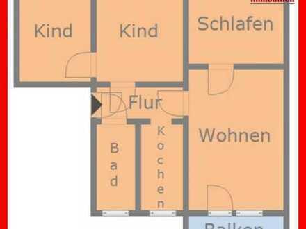 4 Zimmerwohnung mit Balkon