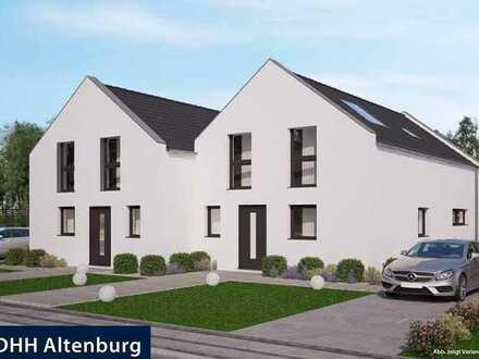 Moderne stilvolle Doppelhaushälfte in guter Wohnlage