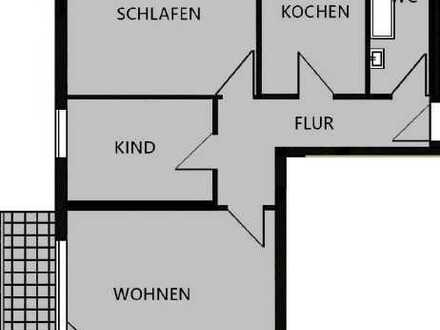 Schöne 3-ZKB mit Balkon ab 01.06.2021