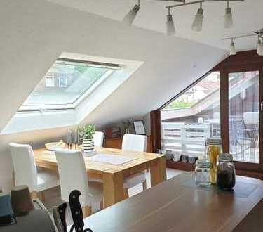 Ruhig wohnen in 4,5 Zimmer DG-Wohnung in Bad Rappenau-Heinsheim