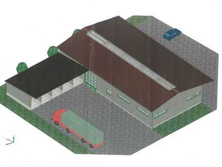 Gewerbehalle für Produktion, Lagerhaltung und/oder Verkaufsflächen in Crailsheim (TO)