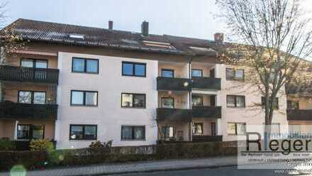 ***VERMIETUNG*** 4-Zimmer-Dachgeschosswohnung im Zentrum Bayreuths, Nähe Amtsgericht!