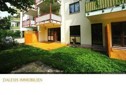 Neubiberg: Freie 4-5 Zimmer Wohnung mit eigenem Garten -Eigennutz-