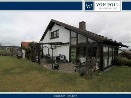 Schönes Einfamilienhaus mit Wintergarten in gepflegter Wohngegend von Oberkotzau