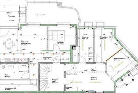 Erstbezug mit Einbauküche und Terasse: ansprechende 2-Zimmer-Wohnung in Herrenberg