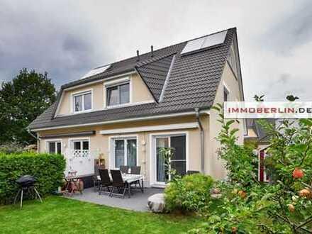 IMMOBERLIN: Top-Mietangebot! Helle Doppelhaushälfte mit Südwestgarten