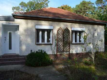 Gemütliches, saniertes Haus mit Garten in Schulzendorf