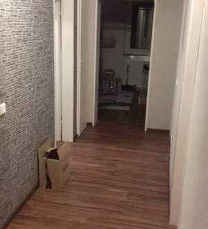 Vollständig renovierte 3-Zimmer-EG-Wohnung mit Balkon und Einbauküche in Borken