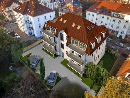 **Erstbezug nach Kernsanierung** wunderschöne, helle 2-Zimmer Wohnung mit großem Balkon