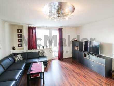 Zentrumsnah in FFM +++ Moderne 3-Zimmer-Wohnung mit Südwest-Balkon im Frankfurter In-Viertel Ostend