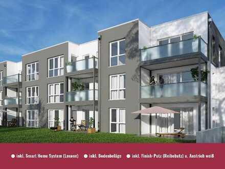 ** Baufeld 8 - Schön geschnittene 3-Zimmer Terrassenwohnung inkl. Smart Home System u.v.m.**