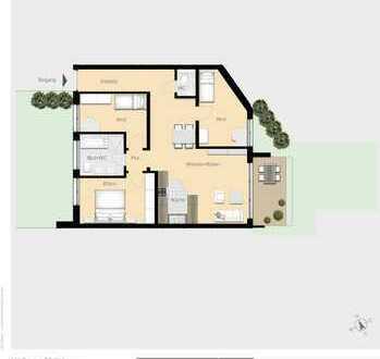 4-Zimmer-Wohnung mit Garten W02