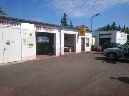!! Auto-Werkstatt, Waschanlage auf eigenem Grundstück !!