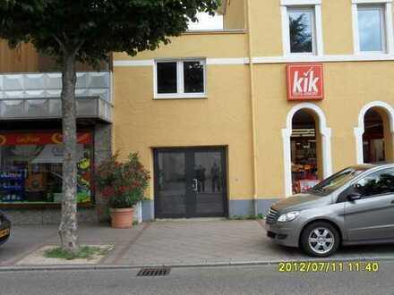 Kleinere Laden- oder Bürofläche in zentraler Lage von Bühl zu vermieten