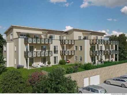 Neubau 2-Zimmer-Wohnung mit Dachterrasse