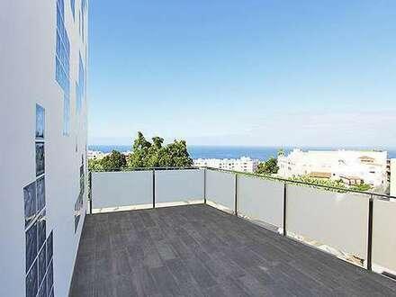 Voigt Immobilien: moderner Neubau auf La Palma / Tazacorte / Spanien mit Meerblick