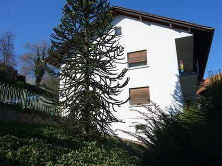 Älteres freistehendes 1-3 Familienhaus mit Garage und Garten in schöner Lage