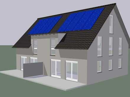* noch 2 von 10 Neubau Doppelhaushälften frei * KfW 40 Plus Energieeffizienz *