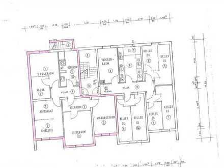Minfeld: Lagerräume mit WC und Küchenanschluss