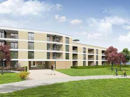 Kompakte 2-Zimmer-Wohnung mit großer, überdachter Loggia!