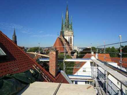 Aussergewöhnliche Maisonettewohnung mit grosser Dachterrasse