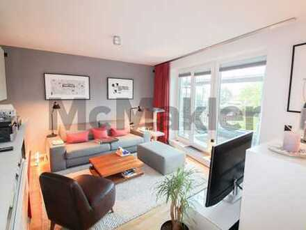 Exklusive 3-Zi.-Wohnung mit Dachterrasse in hervorragender Hamburger Lage nahe dem Fischmarkt