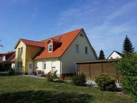 4-Zimmer-Maisonette-Wohnung mit Balkon und Carport am Stadtrand von Greifswald