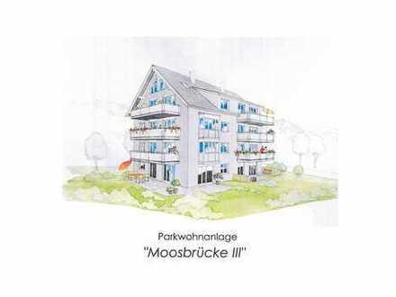 """NEUBAU - 3-Zimmer DG-Maisonette Wohnung """"Moosbrücke III"""""""