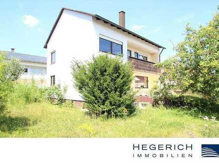 HEGERICH: Zweifamilienhaus mit Potential - Nahe Manchinger Zentrum