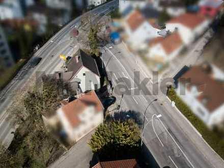 Toplage in Landshut - Großes Grundstück mit Altbestand und viel Potenzial