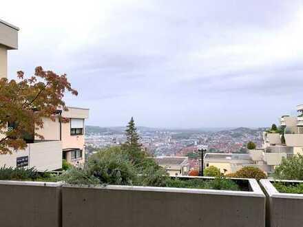 Helle 3-Zimmer-Wohnung mit Traumausblick über Stuttgart
