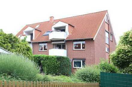 Lengede: 4-Zi.-ETW mit Balkon und Garage in beliebter Wohnlage