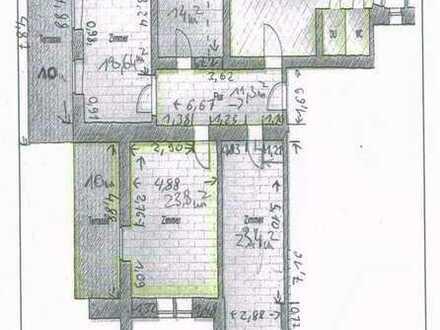 WG-Zimmer mit eigener Terrasse