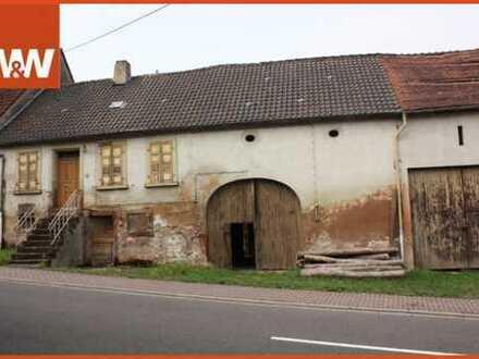 Grundstück mit (Abriss-)Scheune in Wattweiler zu verkaufen