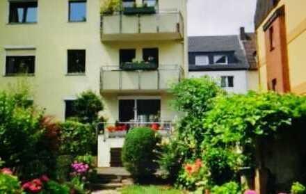 Gepflegte Mietwohnung mit Balkon und Blick ins Grüne