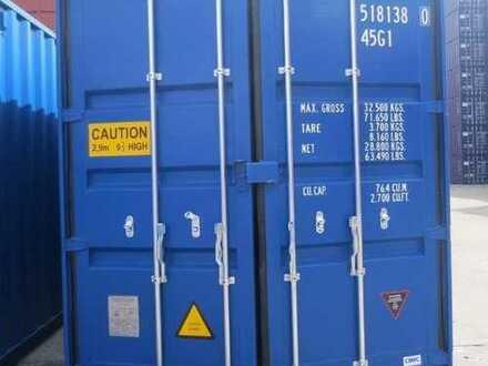 Abstellraum, Lagercontainer, Lagerraum für Möbel usw.